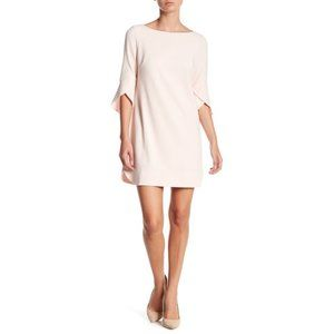 NEW Vince Camuto Tulip Bell Sleeve Dress in Blush